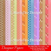 Easter Splash Digital Papers Package 1