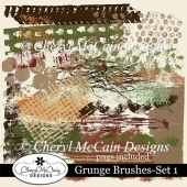 Grunge Brushes - Set 1