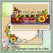 Autumn PSD Layered Card Front 01