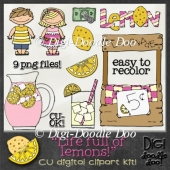 Life full of Lemons! CU clipart