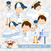 Angel Sweet blue