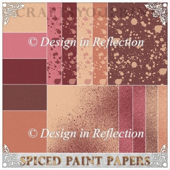 Spiced Paint Papers