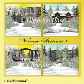 Winter Retreat 1 Backgrounds