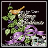 Christmas Greeting Card Elements 3