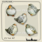 CU Vol. 387 Birds by Lemur Designs
