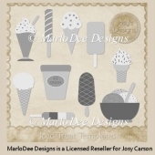 Iced Treats PSD Layered Templates