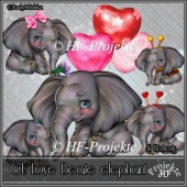 CU LOVE Beate Elephant