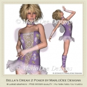 Bella's Dream Pkg 2 Poser Graphics by MarloDee Designs