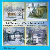 Winter Enchanted Backgrounds