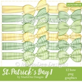 St. Patrick's Day Colors 1 - Bow Graphics 3
