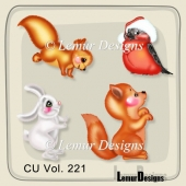Animals Pack 6 by Lemur Designs