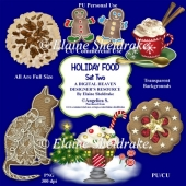 Christmas Holiday Foods - Set Two - Designer Resource For CU