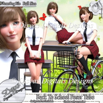 BACK TO THE SCHOOL POSER TUBE PACK VOL. 2 CU