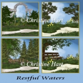 Restful Waters Backgrounds