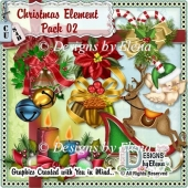 Christmas Element Pack 02