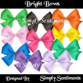 10 Digital Bright Bows