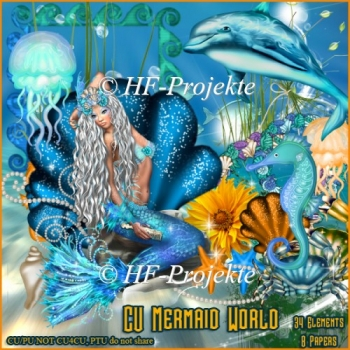 CU Mermaid World Taggersize