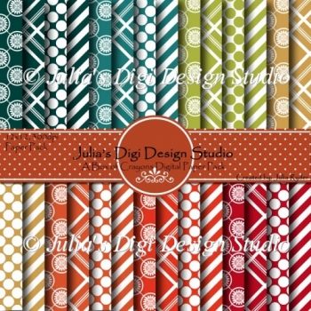 A Box of Crayons Digital Paper Pack