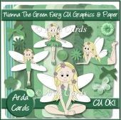 Nienna The Green Fairy CU Graphics And Paper