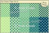 Sea Dreams Paper Set 12