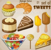 Set Of Sweets 01
