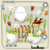 CU Vol. 380 Easter Spring by Lemur Designs