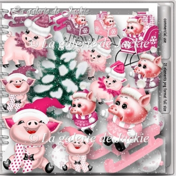 CU Cute Pig Snow 1 FS by GJ