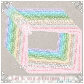 Let It Snow - Pastel Frames II