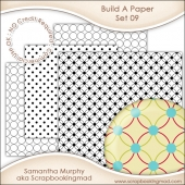 Build A Paper Set 09 - PNG FILES & .PAT File - CU OK