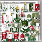 CU Christmas Candle 1 FS by GJ
