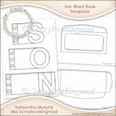 Son Word Book Template