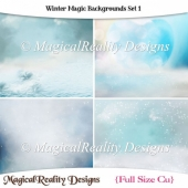 Winter Magic Backgrounds Set 1