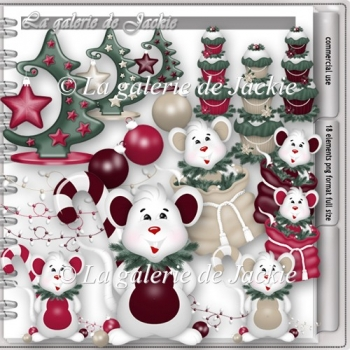CU Holiday mouse 3 FS by GJ