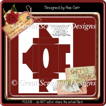 Tissue Box Template PNG & PDF