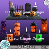 HALLOWEEN CANDLE COLLECTION CU PACK - FULL SIZE