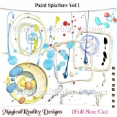 Paint Splatters Vol 1