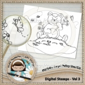 Digital Stamps - Vol 3