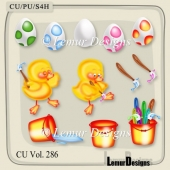 CU Vol. 286 Duck Easter by Lemur Designs