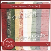 Tuscan Summer Paper Set 9