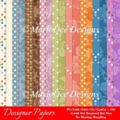Easter Splash Digital Papers Package 2