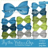 By The Waters Edge Digital Bows Package