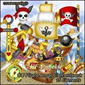 CU Pirate Angel Elementpack