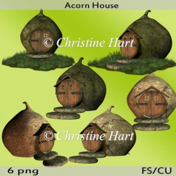 Acorn House Png