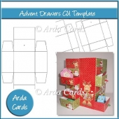 Advent Calendar Drawers CU Template