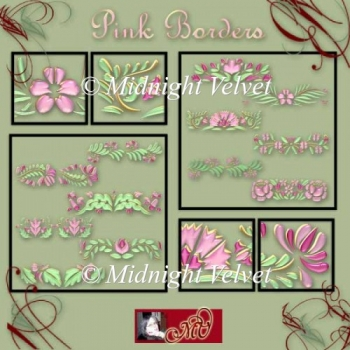 Pink Borders