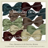 Fall Season 2 Digital Bows Package