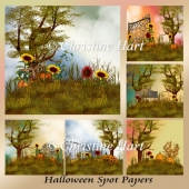 Halloween Spot Papers
