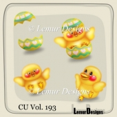Easter Elements Pack 2 by Lemur Designs