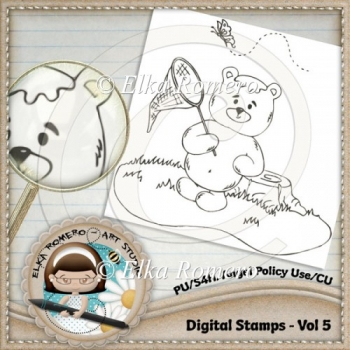Digital Stamps - Vol 5