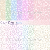 Only Dots Seamless Papers II - Pastels